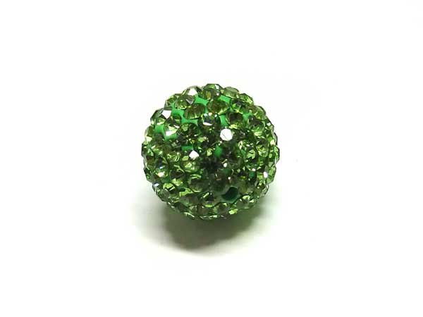 Fimo Strassperle 10 mm peridot