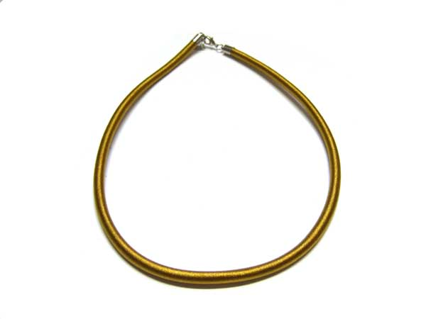 Satincollier gold 5,5 mm