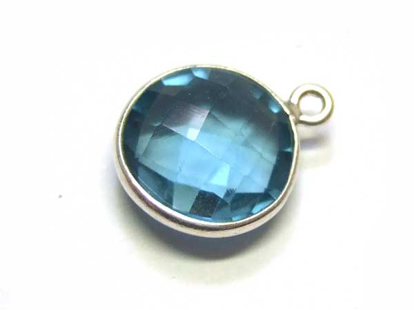 facettierter Blue Quartz 14778